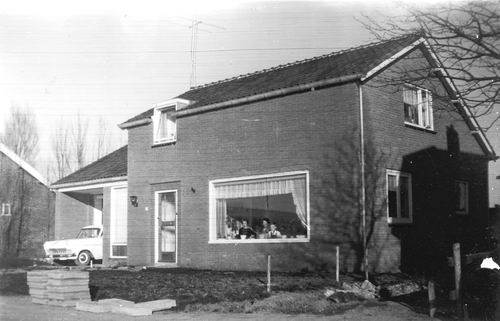 Lisserdijk 0057 1961 Sloop en Nieuwbouw Huize de Man 13