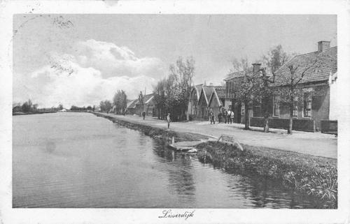Lisserdijk 0533+ 1928 Zicht naar Noorden