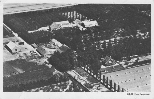 Lisserweg N 0485-487 1948 Olmenhorst Luchtfoto
