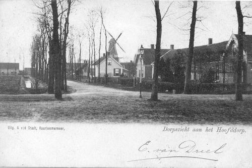 Marktlaan 1903 met v Driel