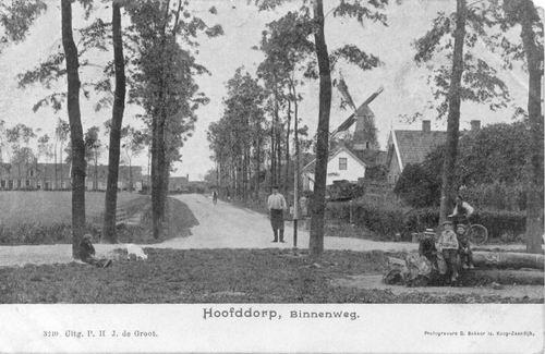 Marktlaan 1905 of eerder Binnenweg
