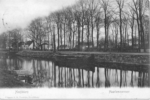 Marktplein C 1905 of eerder vanaf Hoofdweg W