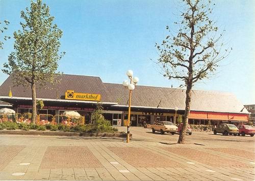 Marktplein C 1978 Markthof buiten kleur