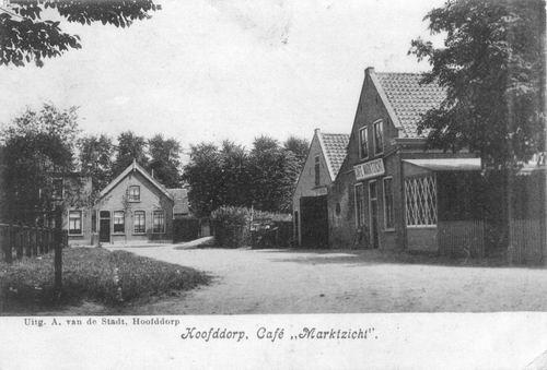Marktplein N 0031 1906 Marktzicht