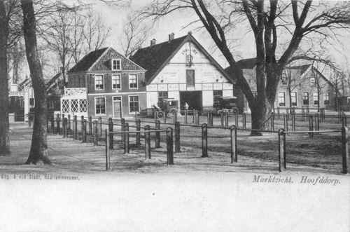 Marktplein N 0043 1903 Wapens v Haarlemmermeer
