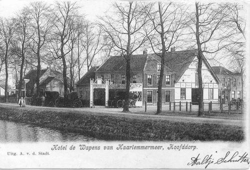 Marktplein N 0043 1904 Wapens v Haarlemmermeer