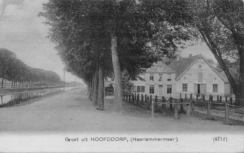 Marktplein N 0043 1908 Wapens v Haarlemmermeer