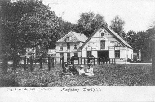 Marktplein N 0043 1909 Wapens v Haarlemmermeer