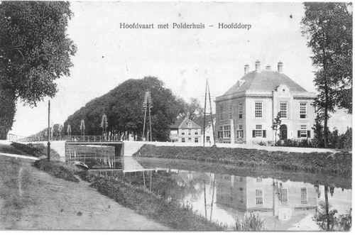 Marktplein N 0047 1913 Polderhuis