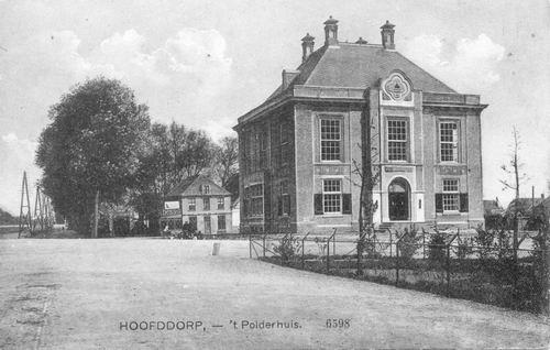 Marktplein N 0047 1914 Polderhuis
