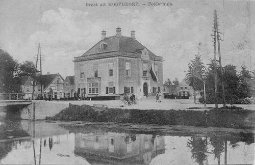 Marktplein N 0047 1917 Polderhuis