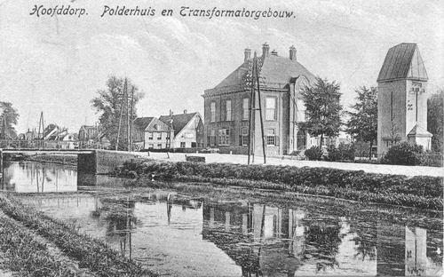Marktplein N 0047 1921 Polderhuis