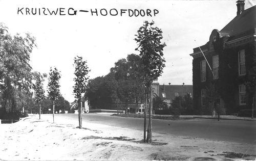 Marktplein N 0047 1934 Polderhuis Fotokaart