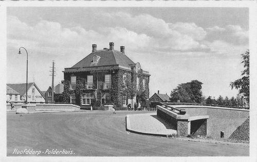 Marktplein N 0047 1942 Polderhuis Cursief