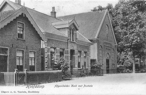 Marktplein Z 0026 1905 of eerder Oude Geref Kerk