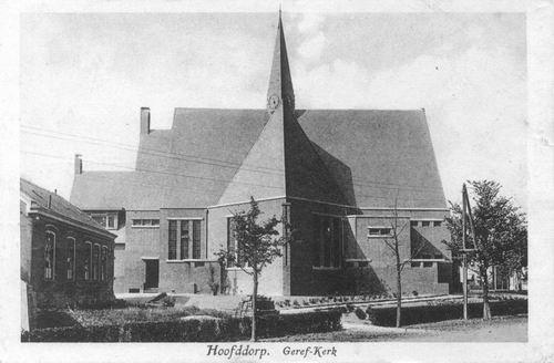Marktplein Z 0094 1930 Geref Kerk