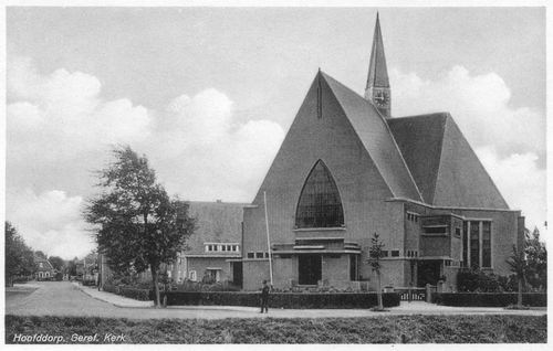 Marktplein Z 0094 1937 Geref Kerk