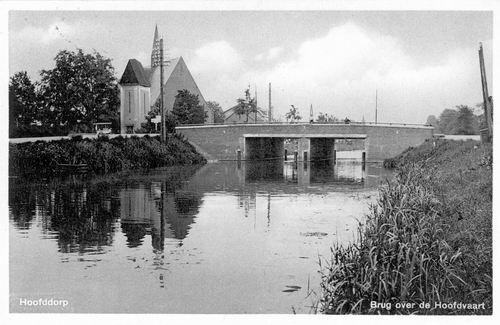 Marktplein Z 0094 1938 Geref Kerk met PEN torentje