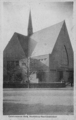 Marktplein Z 0094 1944 Geref Kerk