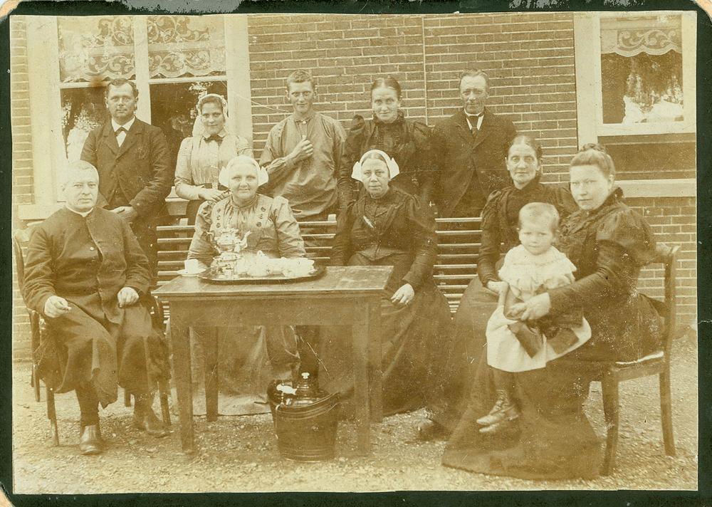 Meijer David J S 1866 1897 op Bezoek bij Familie vd Burg