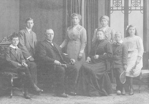 Meijer David J S 1866 1910 Familiefoto