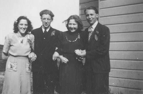 Meijer Harry 1917 1947 trouwt Kitty de Koning 09