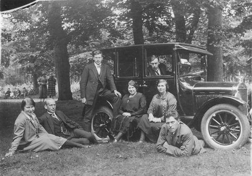Meijer Hendricus J 1896 19__ met Auto naar t Gooi