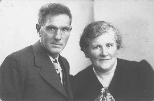 Meijer Jan 1884 19__ Portret met vrouw Anna Huiberts