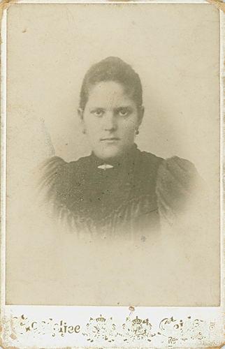 Meijer Joanna A M 1875 19__ Portret