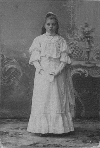 Meijer-Koot Adriana M 1895 1906 bij 1e Heilige Communie