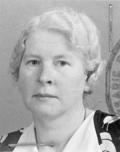 Meijer Maria M 1902 1952 Pasfoto