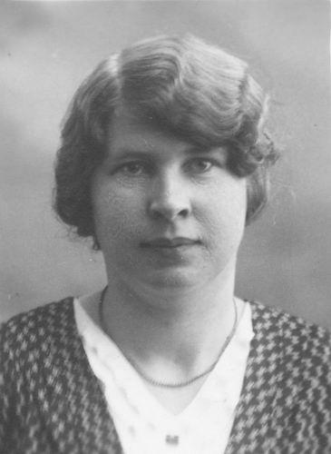 Meijer Maria M 1902 19__ Portret 03