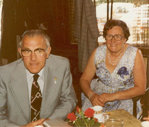 Mienis Adriaan 1911 1978 met vrouw Bep Polle