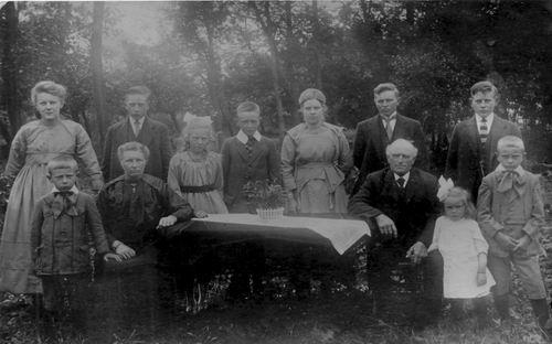 Munsterman-Rijkelijkhuizen Hendrik 1919 Gezinsfoto
