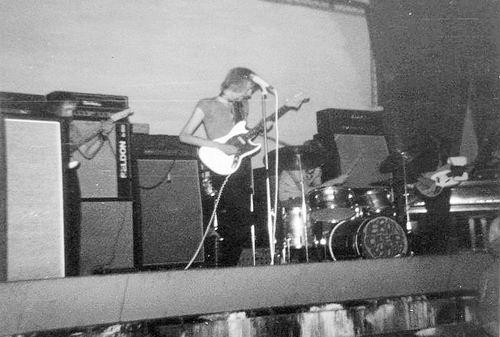 Muziekband Ebon Clepsydra 1970 Optreden in de Waterwolf 02