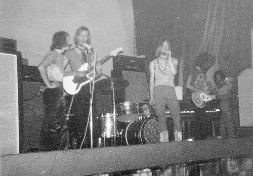 Muziekband Ebon Clepsydra 1970 Optreden in de Waterwolf 03
