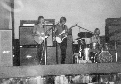 Muziekband Ebon Clepsydra 1970 Optreden in de Waterwolf 04