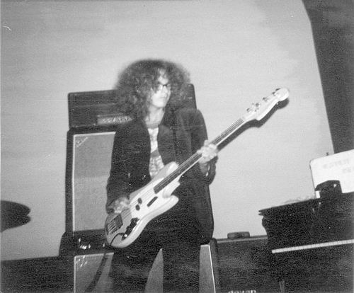 Muziekband Ebon Clepsydra 1970 Optreden in de Waterwolf 05