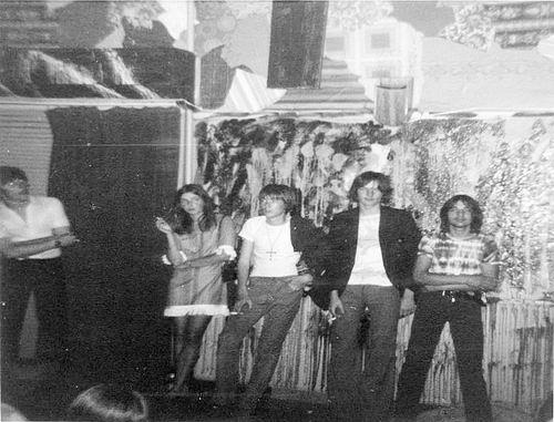 Muziekband Ebon Clepsydra 1970 Optreden in de Waterwolf 07