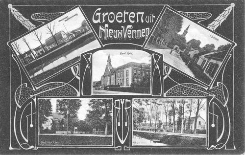 Nieuw Vennep 1905 5-luik