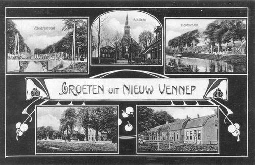 Nieuw Vennep 1908 5-luik
