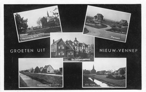 Nieuw Vennep 1949 5-luik