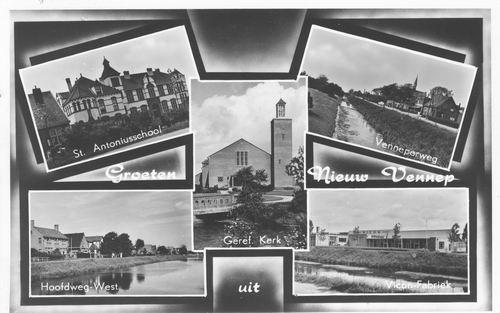 Nieuw Vennep 1950 5-luik