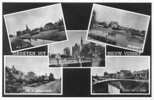 Nieuw Vennep 1954 5-luik