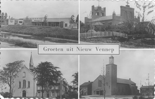 Nieuw Vennep 1956 4-luik