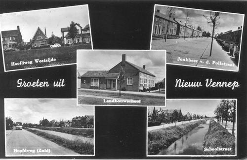 Nieuw Vennep 1958 5-luik