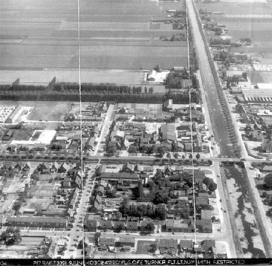 Nieuw Vennep 1961 Luchtfoto Centrum West 01_2