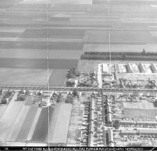 Nieuw Vennep 1961 Luchtfoto Centrum West 02_2