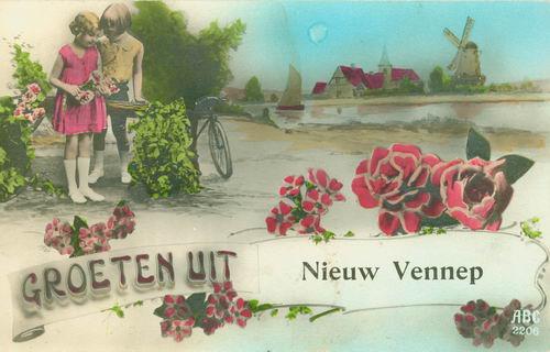 Nieuw Vennep Groeten uit 08