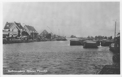 Nieuwemeerdijk 0048 1951 Zicht vanaf de Brug